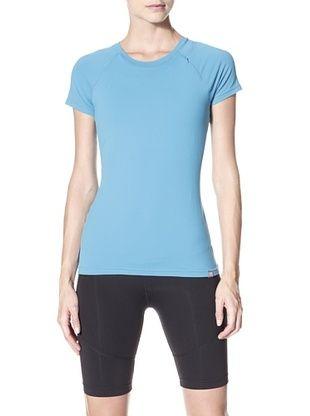 47% OFF Zobha Women's Short Sleeve Tee (Blue)