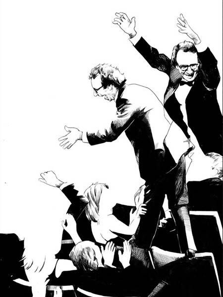 Oliver Barrett illustrations