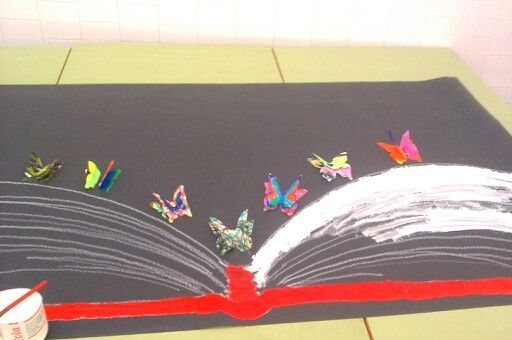 Primary Art and Language Education. #Project #butterfly #colors #colorful