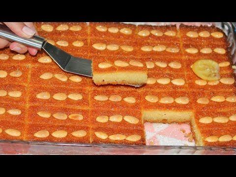 şambalı tatlısı tarifi ( unsuz yumurtasiz yağsız gerçek tarif ) - YouTube
