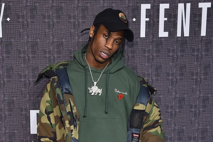 First Madonna, now this. Is London the capital of collapse? Travis Scott warbles into the Best Fall Ever, before being fished from hole by first-responder Drake.
