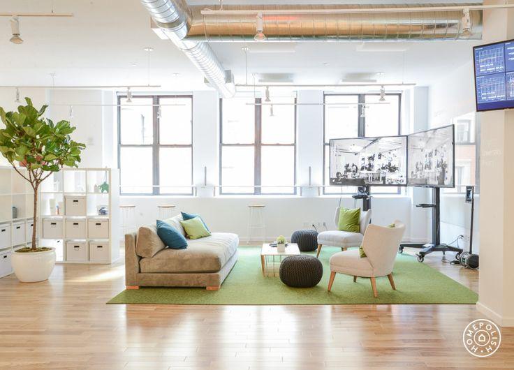 Alternativ Zur Farbigen Wand Teppich Visuellen Abtrennung Des Lounge Bereichs
