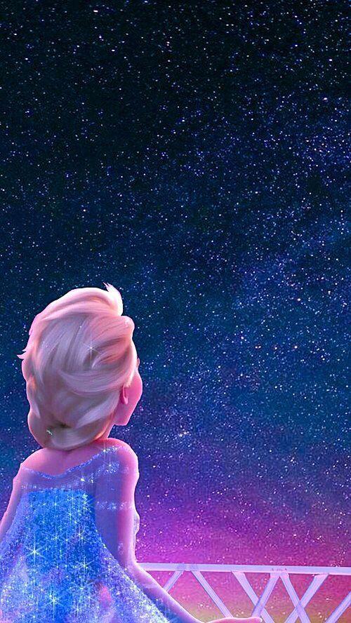 Papel de Parede para celular olhando as estrelas