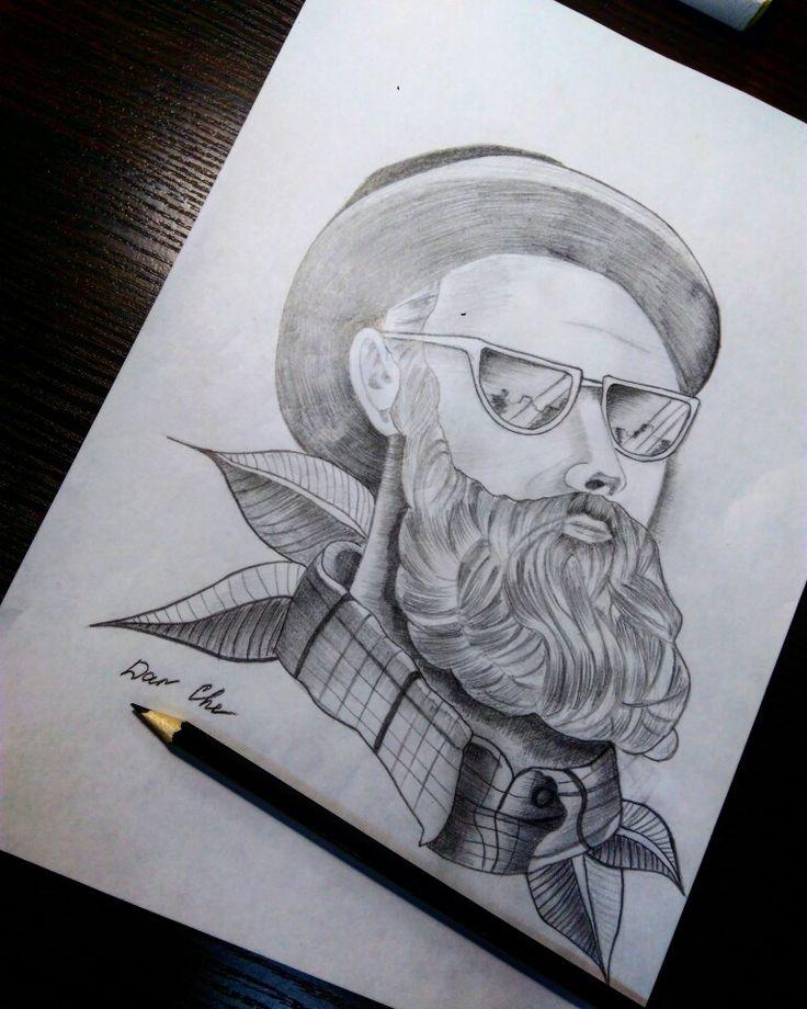 #эскизтату #эскиз #тату #tattoo #tattoomen #бородач #борода