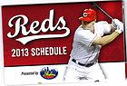 2013 Cincinnati Reds Baseball Skyline Chili Schedule Jay Bruce MINT - 2013, Baseball, BRUCE, Chili, CINCINNATI, Mint, REDS, SCHEDULE, Skyline