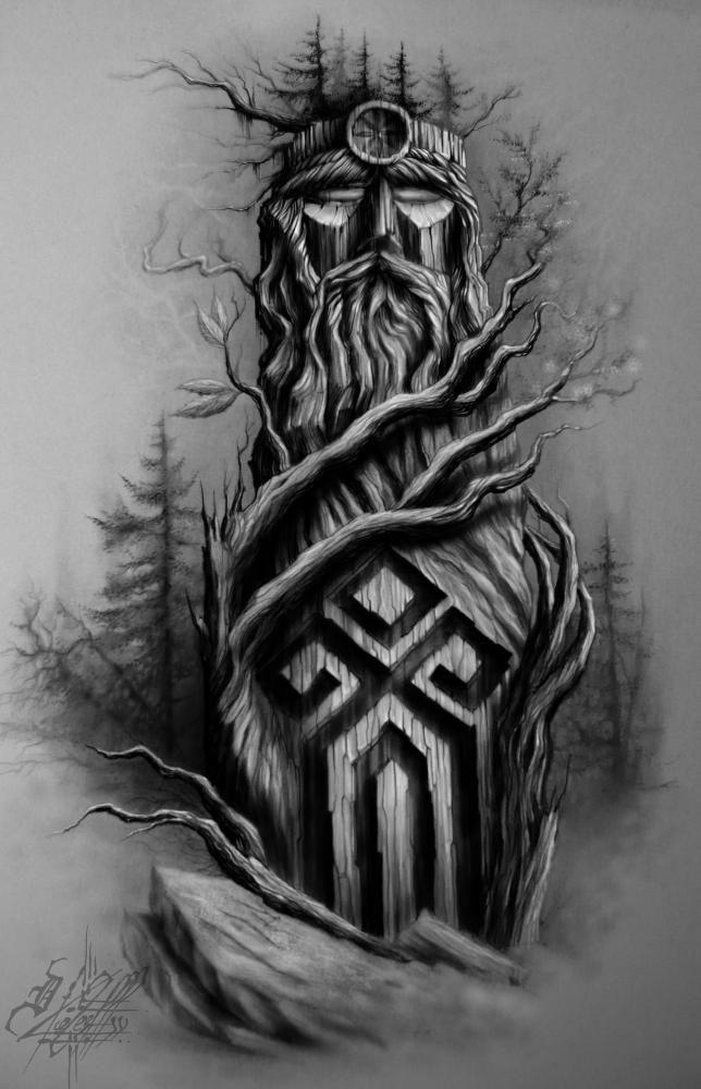 Картинки тату древнеславянские