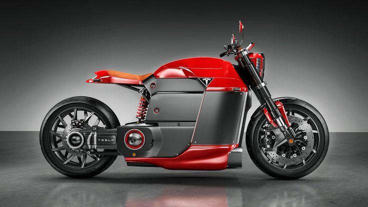 Tesla Model M Fantasy Electric Bike Looks Wicked Cool