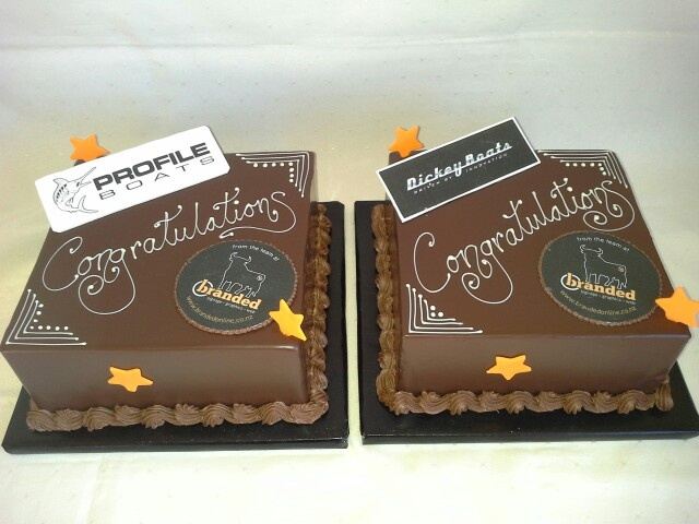 #chocolate truffle cakes with #company #branding logos, great #gift idea too, or #thankyou