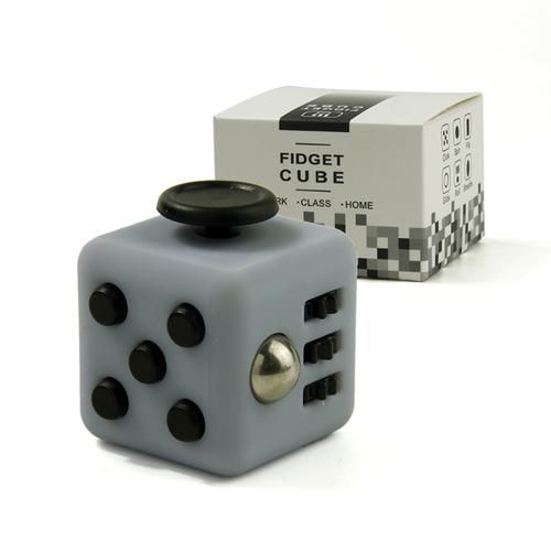 Mini Fidget Cube  Fun Stress Reliever 11 Colour
