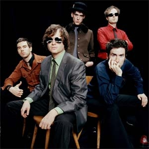 """Six-piece metro Detroit-based band Electric Six play what has been described as a brand of rock music infused with elements of """"garage, disco, punk, new wave, and metal."""" The band met recognition in 2003 with the single """"Danger! High Voltage"""", and their second single, """"Gay Bar"""", became a big hit as well in the UK, reaching #5 in the charts. They'll now be playing Concorde2 on Tuesday 10th December. Tickets are on sale for £12.50 + bf in adv. Simply click the image above to buy yours now."""