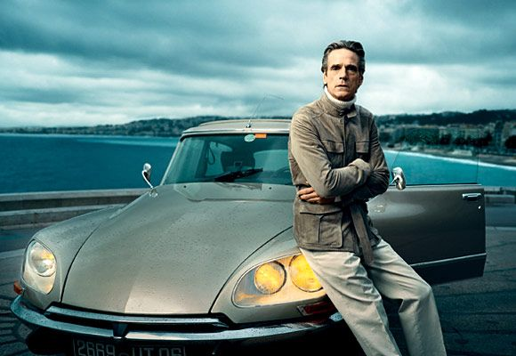 photo of Jeremy Irons  - car