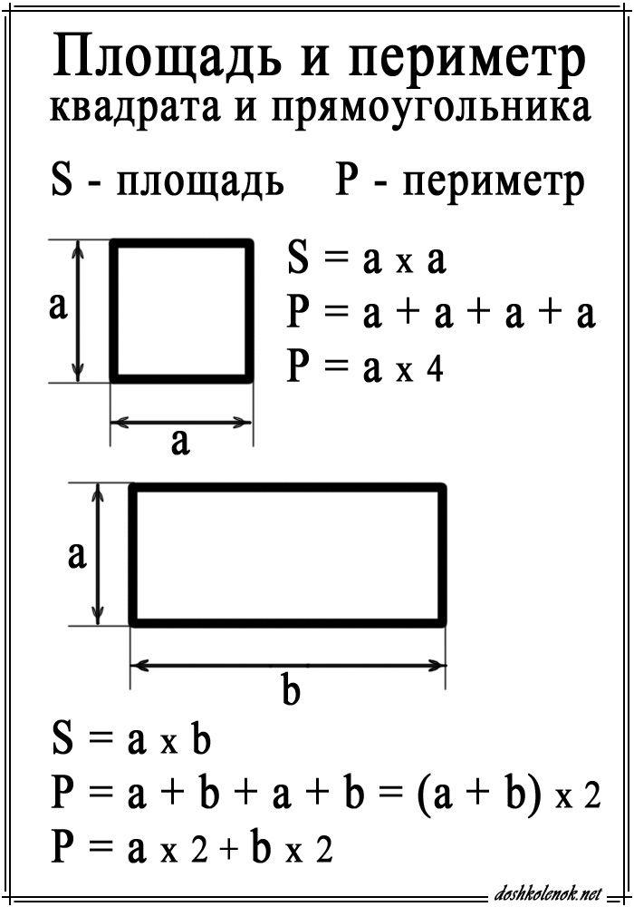 Решение задачи найти периметр квадрата аналитическая геометрия в пространстве решение задач онлайн
