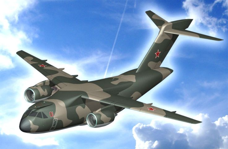 Военный самолет СССР