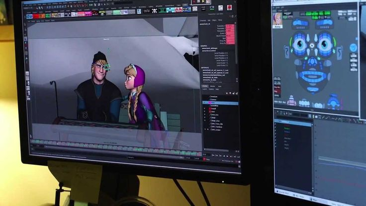 backstage Frozen: Behind the Scenes of the Animation