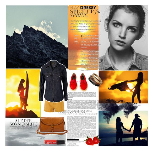 """""""summer adventures"""" by wilady ❤ liked on Polyvore featuring MANGO, Madewell, SELECTED, Adieu, Jean Shop, Wallis and Butter London"""