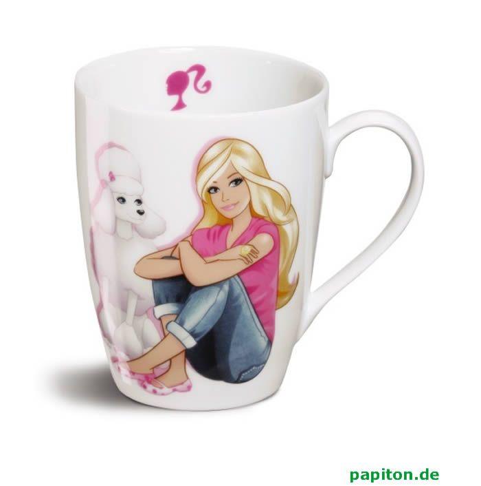barbie+cups | Nici Barbie mug poodle Sequin et Barbie buy online at Papiton.