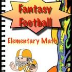 With the popularity of Fantasy Football soaring, get students interested in math by participating in Fantasy Football!   Gives scoring sheets for a...