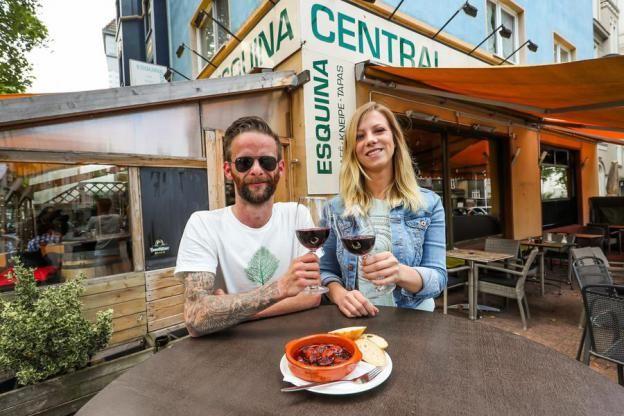 Yves Gredecki und Ricarda Neuwirth bekommen an der Kreuzstraße 69 noch viel zu tun.