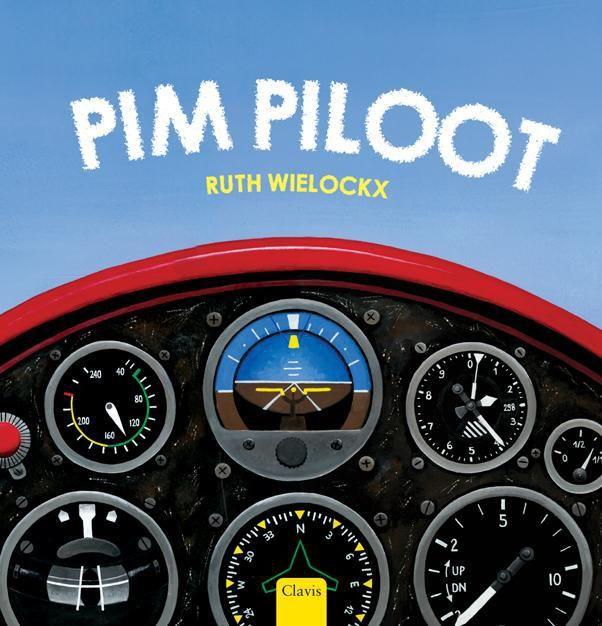 Pim Piloot, prentenboek van Ruth Wielockx. over vliegtuigen en behulpzaam zijn. Vanaf 3/4 jaar.