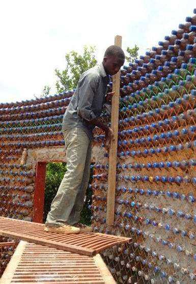 Bullet-Proof Plastic Bottle Homes - Houses Being Built in Nigeria Use 7,800 Plastic Bottles Each (GALLERY)