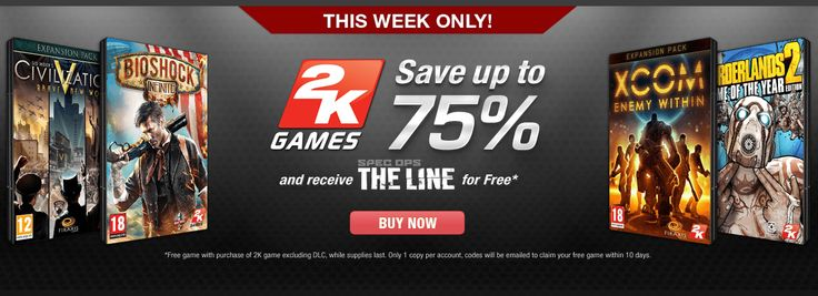 Gamefly 2K Games Sale Comes With Free Spec Ops: The Line Copy  http://gg3.be/2014/02/25/gamefly-2k-games-sale-comes-with-free-spec-ops-the-line-copy/