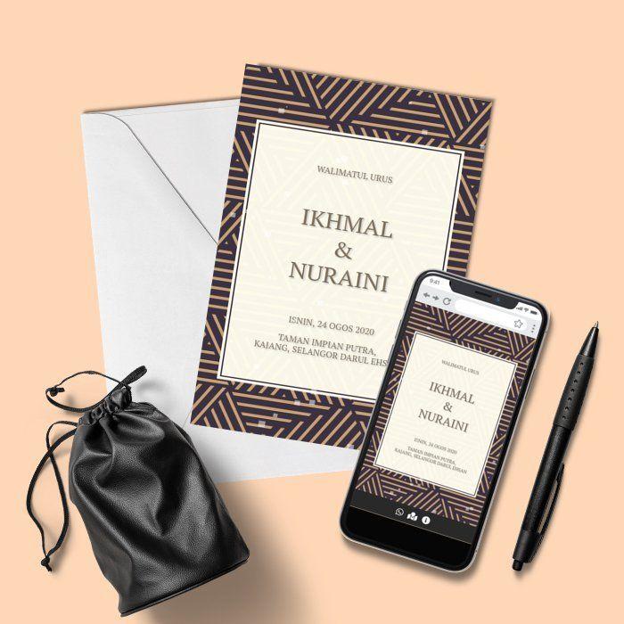 Design By Inspirasi Kad Kahwin Online Invitations Kad Kahwin Design Kad Kahwin