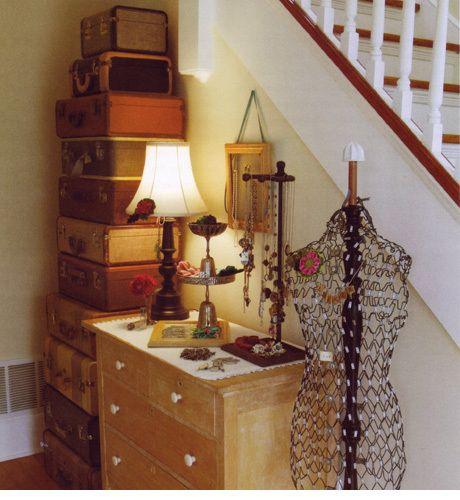 Best Suitcase Storage Ideas On Pinterest Multicoloured Home - Best vintage storage ideas