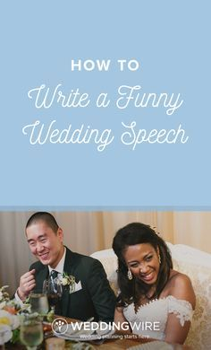 How to Write a Funny Wedding Speech - You don't have to be a comedian to make a hilarious wedding speech. Check out 14 tips that will help you write and make a funny wedding speech on @weddingwire!  {Dawn E. Rosco e Photography}