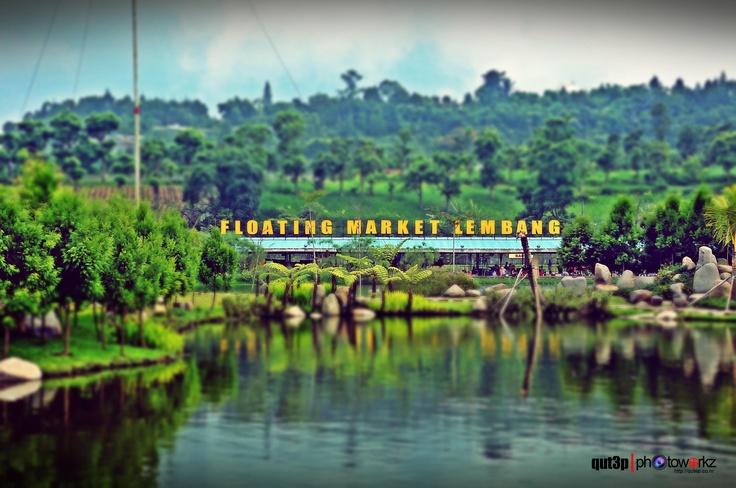 floating market bandung lembang