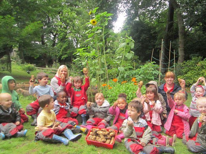 Oakfield House Forest School Portland Nurseries