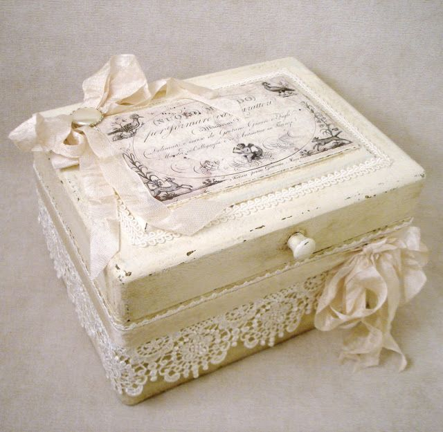 ~ The Feathered Nest ~: A finished treasure box!