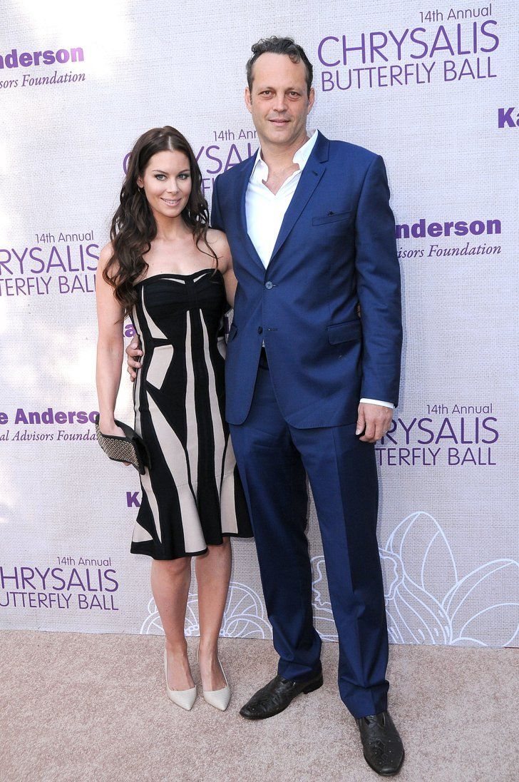 Pin for Later: 18 Celebrities Who Got Married Later in Life Vince Vaughn and Kyla Weber Vince Vaughn was less than three months shy of turning 41 when he made things official with Canadian realtor Kyla Weber in January 2010.