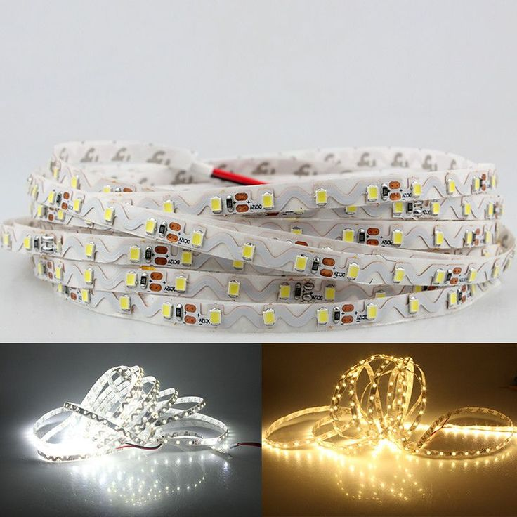 5M Ruban LED Strip Lighting 2835 SMD Free Bending S Shape Bande LED Strip DC12V Flexible LED Light 60leds/m Tiras Led Ribbon #Affiliate #tirasdeled