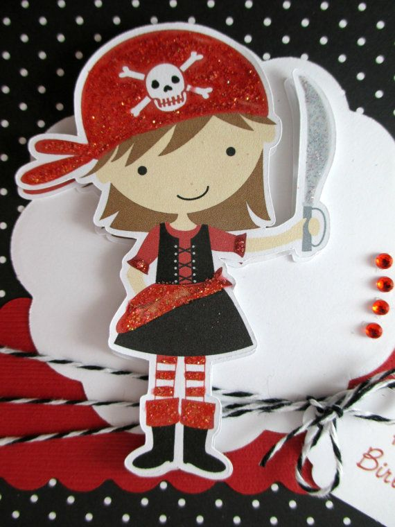 107 best Pirate Party images – Pirate Birthday Card