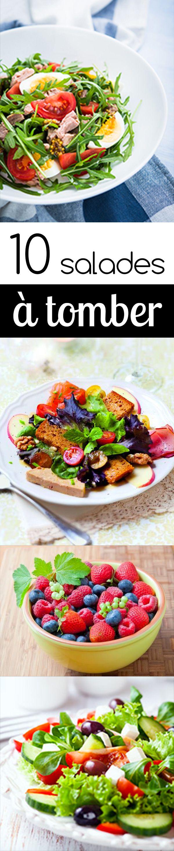 10 salades à tomber !