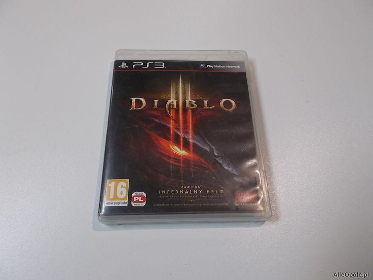 """Diablo 3 - GRA Ps3 - Sklep """"ALFA"""" Opole 388 - AlleOpole.pl (Opole)"""