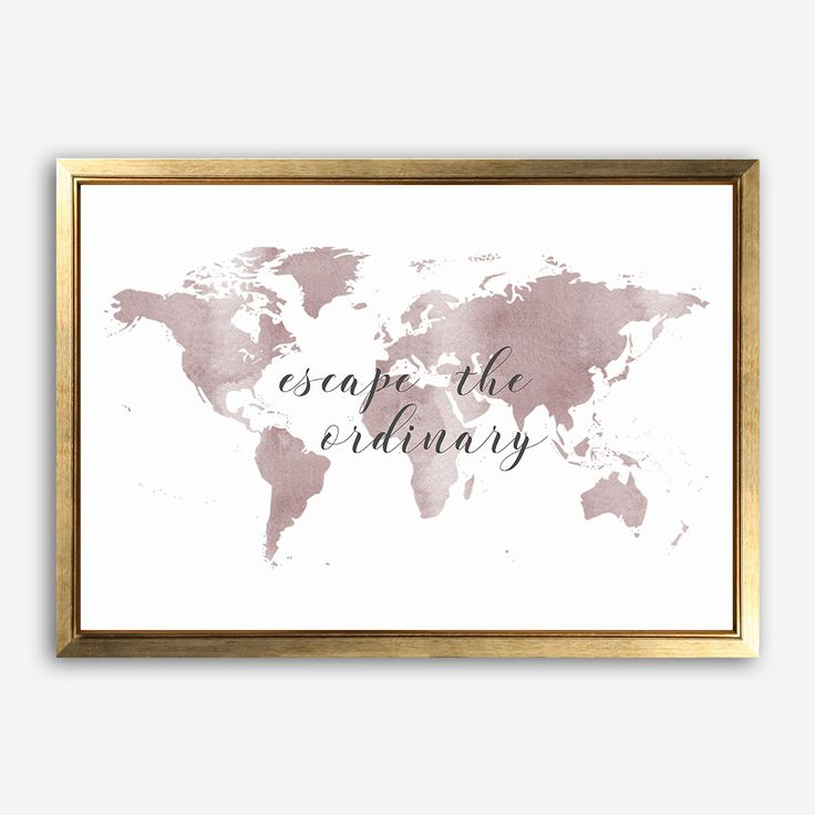 8 best images about For the Home on Pinterest - best of world map grey image