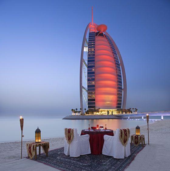 Burj Al Arab - Cena para2- Dinner for 2