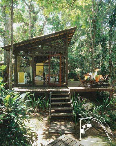 38 Casas Pequenas Mas Muito Confort Veis Tropical House Designtropical