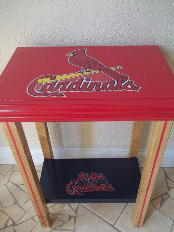 St. Louis Cardinals Inspired Table MLB Man Cave by drSportsCaves