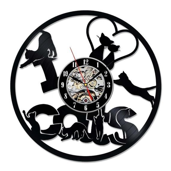 Your Time Is The Greatest Gift Thank You For Sharing Best Original Wall Clock Made Of Vinyl Record Which Will Definitely Mak Clock Wall Clock Printed Clocks