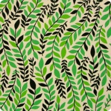 Alexander Henry: Pretty Patterns, Henry Patterns, Alexander Henry, Leaf Patterns, Griffith Leaf, Kelly Green, Stripes, Pretty Leaves, Shades Of Green