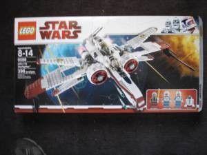 Lego 8088 Star Wars ARC 170 Starfighter New - $40