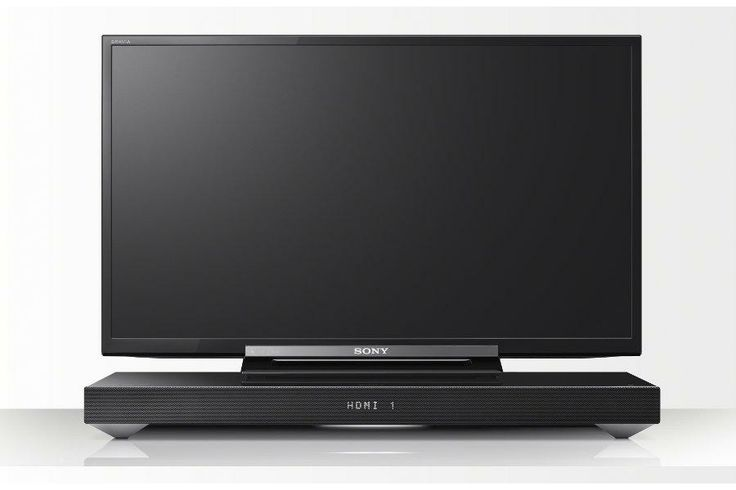 Head on Sony HT - XT1 All in one box sound system for TV #Sony