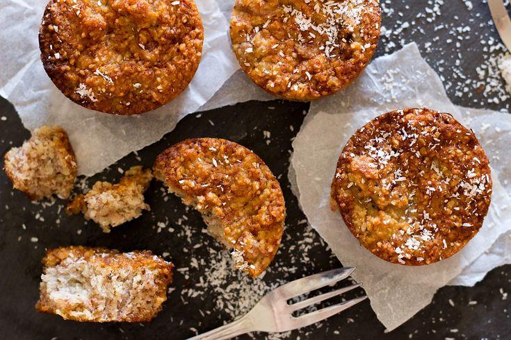 Kokosmeel Pompoen Muffins - Powered by @ultimaterecipe