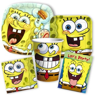 SpongeBob Party Supplies- think this is my favorite I've come across so far.