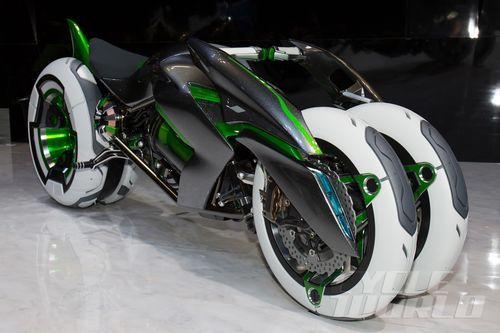Kawasaki J Concept Dreirad | Fahrradwelt   – Car Envy Elite