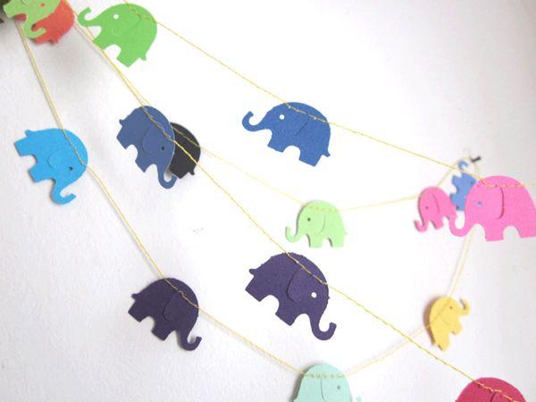 Elefanten Girlanden