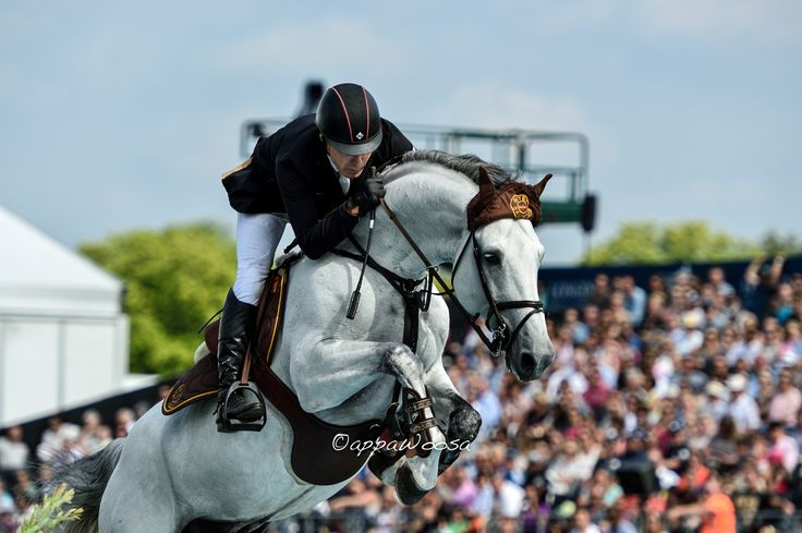Michael Whitaker and Cassionato - Chantilly 2014