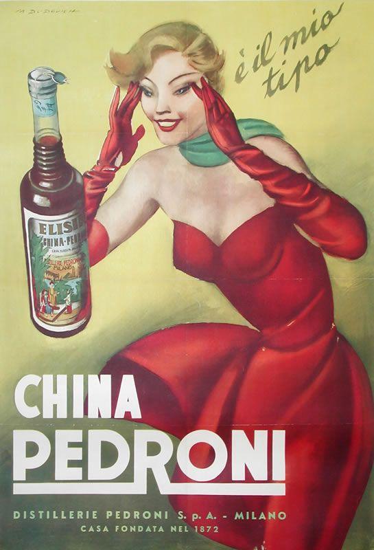 Occhi a mandorla per guardare con favore alla CHINA. Illustrazione di Marcello Dudovich